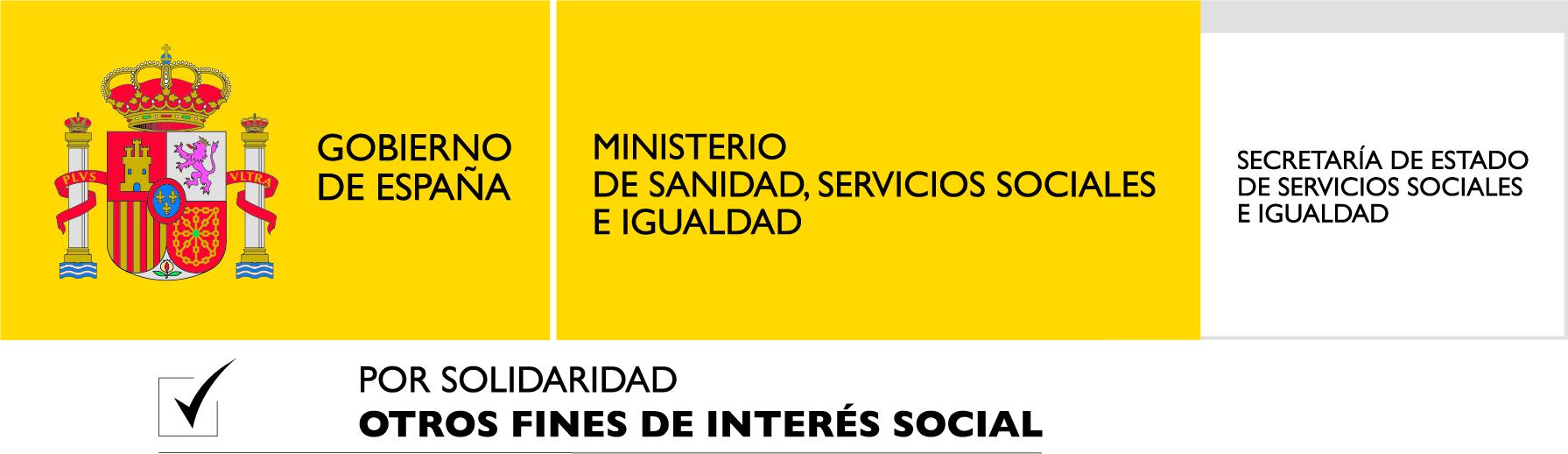 MINISITERIO DE SANIDAD, SERVICIOS SOCIALES E IGUALDAD